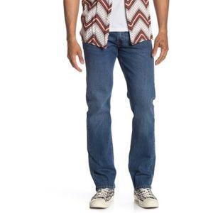 Levi's 513 Slim Straight Jeans - 33x32 inseam New